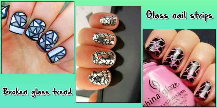 Broken glass nail art is the largest and coolest manicure trend nail art 11 prinsesfo Choice Image