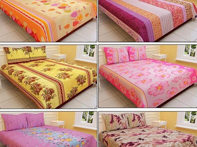 Utake Six Bed Sheets