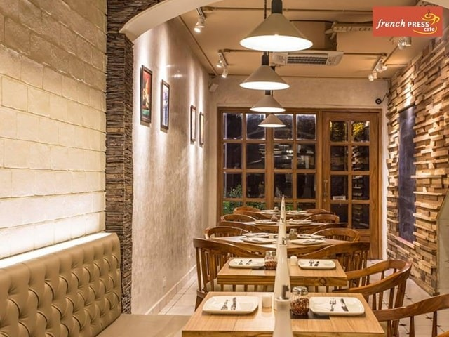 French Press Cafe Chandigarh - Save money With the Best Deals on Pasta+Sandwich+Lemonade