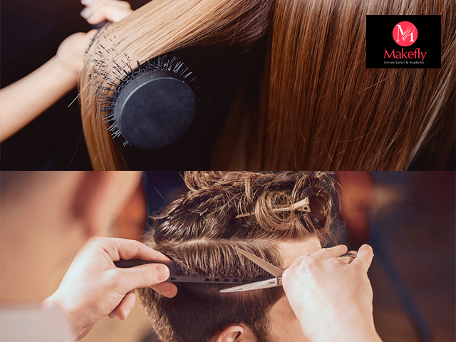 Makefly salon mohali - Get 7 Hair services for Female in Rs.349 only