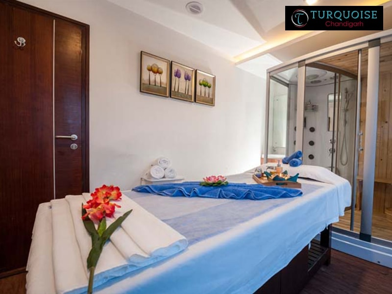 Turquoise Spa Chandigarh- Get Full Body Massage at turquoise in Just Rs.600