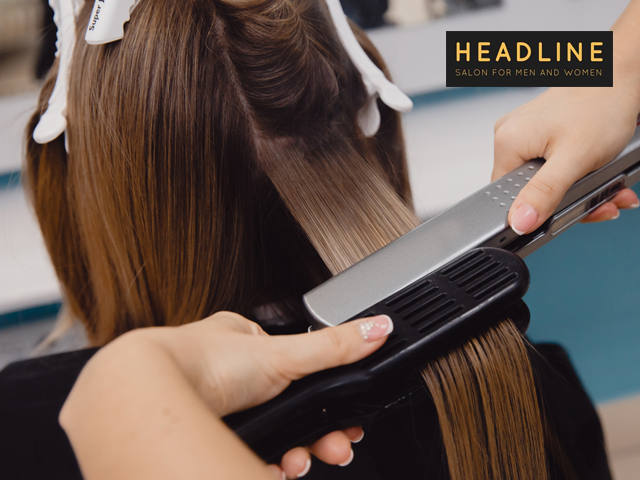 Headline Salon Chandigarh - Get Keratin Treatment (  Any Length ) in Rs. 2999 Only