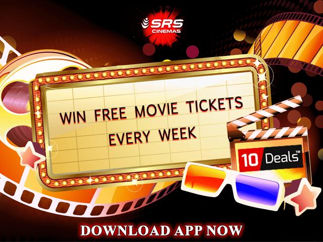 Get 2 Free Movie Tickets Every Week!