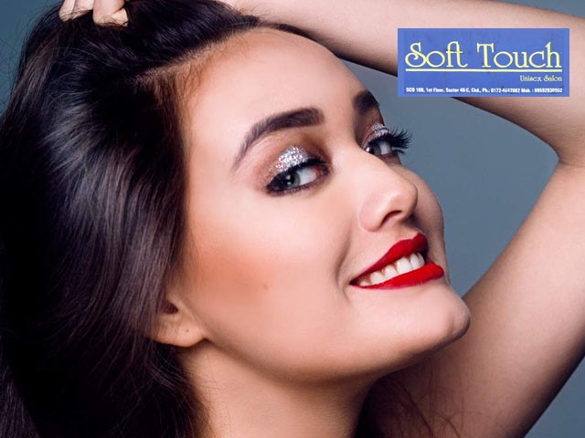 Soft Touch Unisex Salon Panchkula - Party Make Up Services