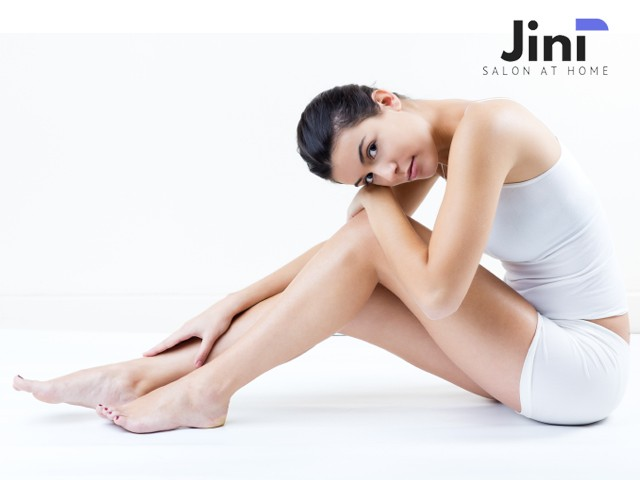 Jini Home Salon- Get Waxing and Threading Services for women in 499 Only