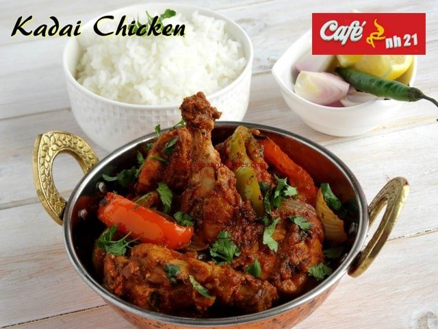 Cafe NH 21 Kharar-  Get Half Kadhai Chicken/Half Chicken Curry (4 Pieces) + 8 Rotis