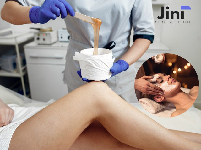 Jini Home Salon- Get 5 services in 1499 Only