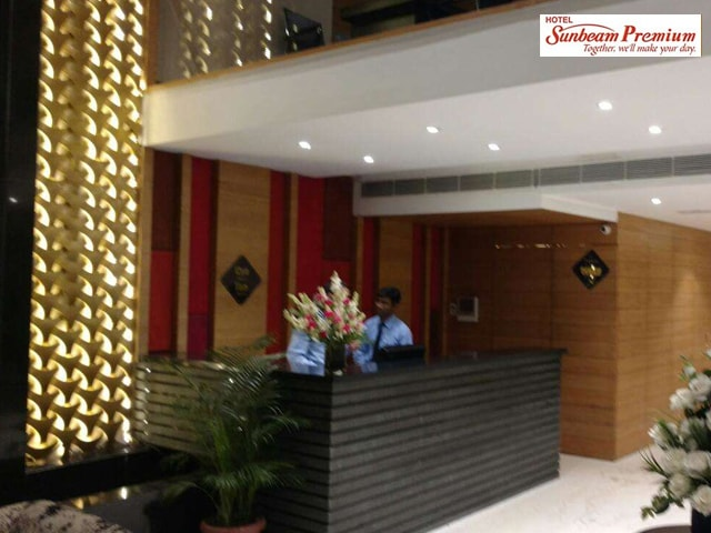 Hotel Sunbeam Premium Chandigarh- Enjoy Veg Lunch Buffet with Fresh Lime Water/ Coke In Rs.495