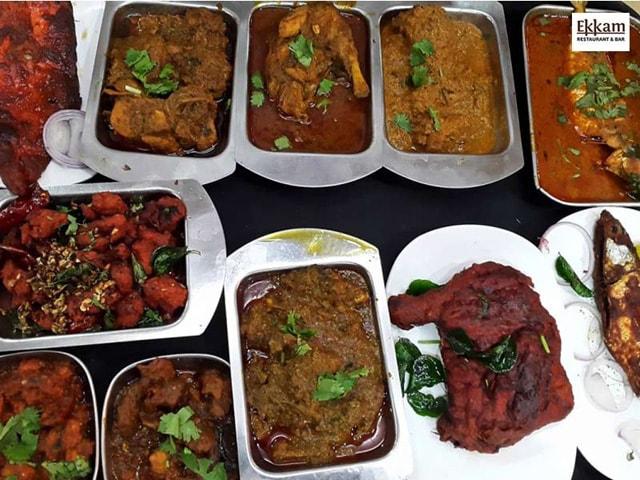 Ekkam Restaurant Bar Non Veg Week Days Lunch Buffet In Rs