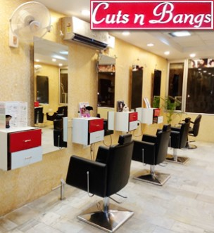 Cuts N Bangs Mohali- Smoothening for Medium length hairs just for Rs.1949