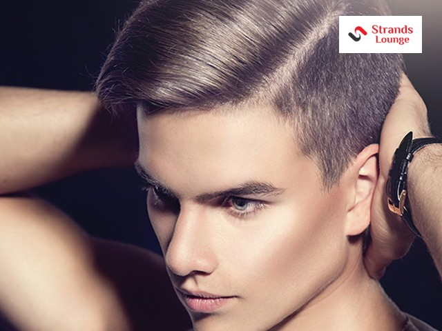 Strands Salon Lounge- Hair Cut + Hair Wash + Blow Dry In Just Rs.249