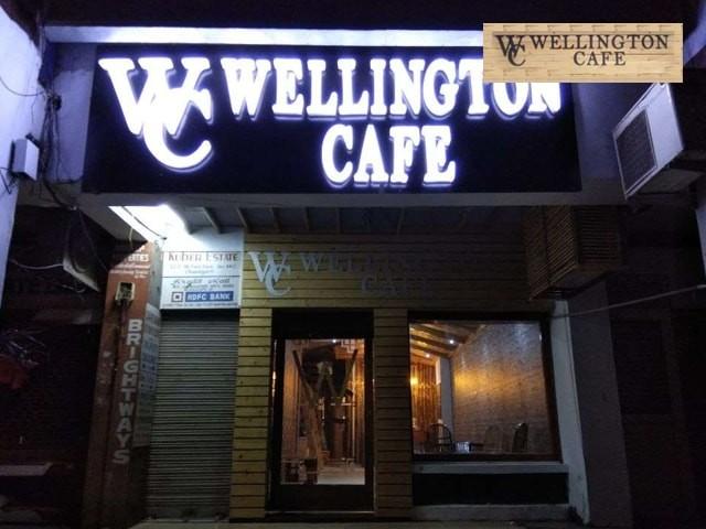 Wellington Cafe-Get 1 Zibibo Veg Burger + 1 Portion of Fries + 1 Salad + 1 Virgin Mojito Rs. 125 Only