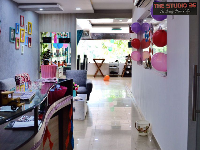 The Studio 36- Amazing Offer On All Kinds Of Salon Services In Chandigarh