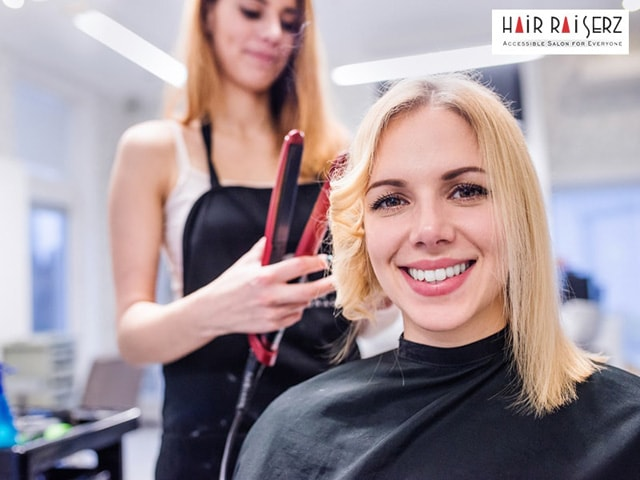 Hair Raiserz Chandigarh- Get Haircut + Hair wash + Hair Styling for Women in Rs.249 Only ( Including Taxes)