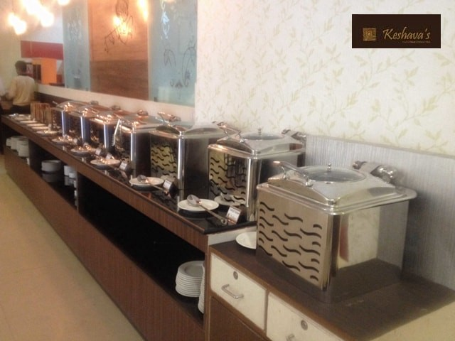 Keshava's Nand Sweets-Rs.229 for Veg Lunch Buffet with Welcome Drink