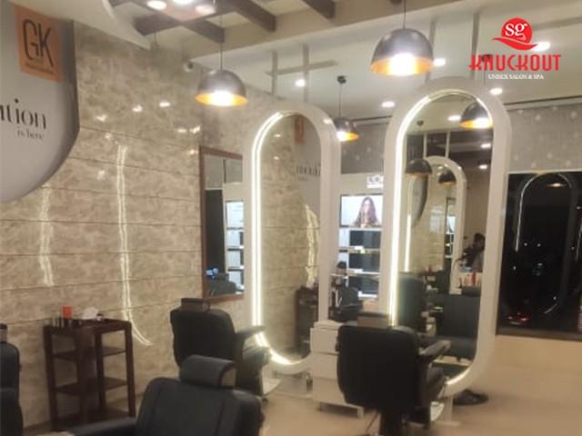 Knuckout Zirakpur- Get Men Hair Cut + Beard in Just Rs.249