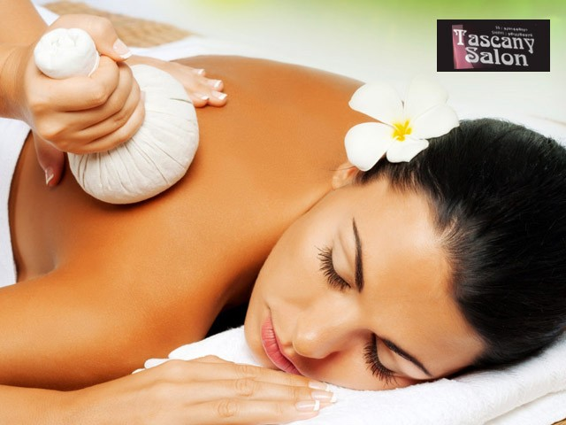 Tascany Salon Chandigarh - Get Discount Offer On Full Body Potli Massage