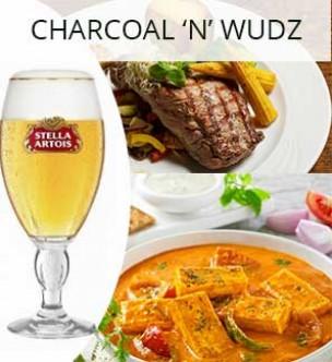 Charcoal 'N' Wudz Restaurant Amritsar