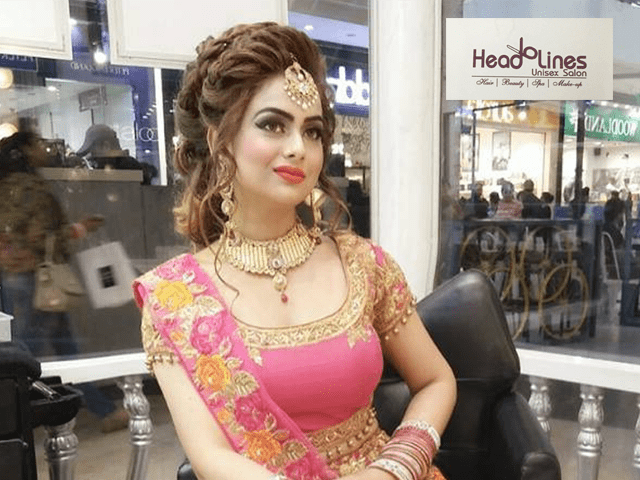 Headline Salon Chandigarh - Get Amazing offer on Party Make Up Service