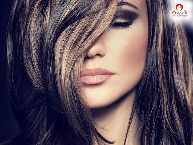 Get full head blond highlighting color at mapples hair beauty get full head blond highlighting color at mapples hair beauty studio mohali pmusecretfo Image collections