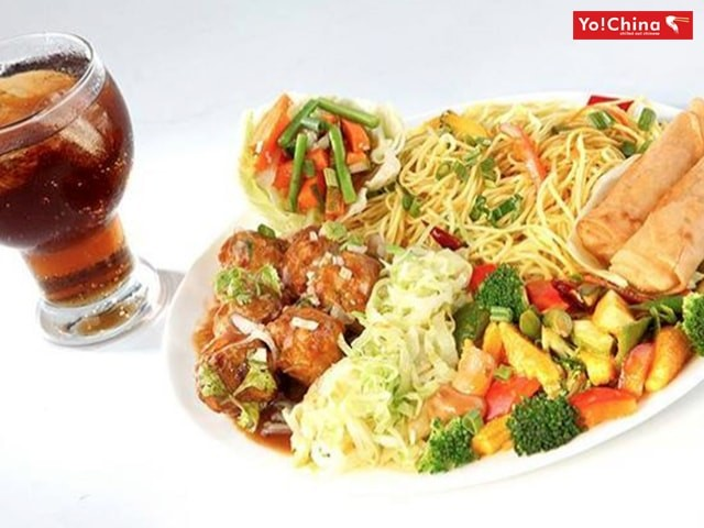 Yo China Mohali- Get an Amazing Discount Offers on 4-Course Veg Lunch with Unlimited Lime Water/Soda