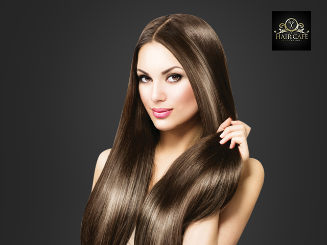 Hair Cafe-Get Matrix Smoothing Any Length With Protein Wash + Hair Spa + Hair Cut in Rs.1999
