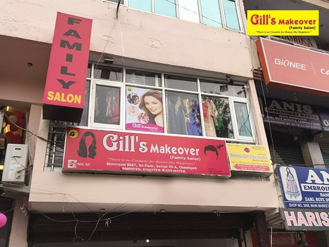 Gills Make Over Salon- 10 beauty Services in Rs.1500
