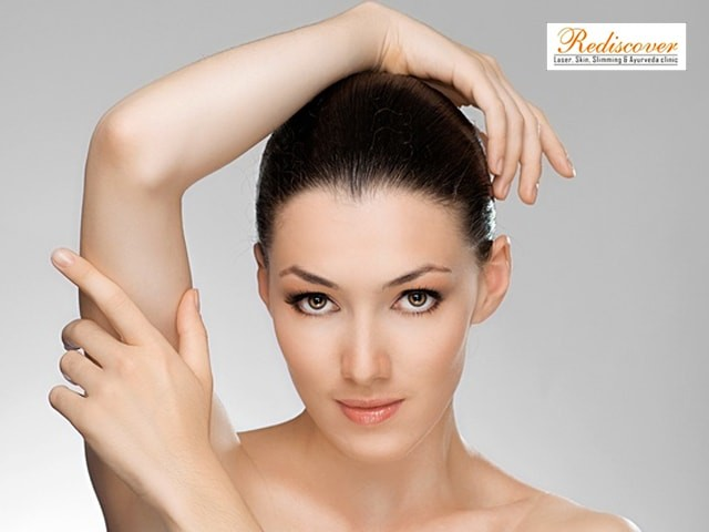 Rediscover  Sector 7 Dwarka  New Delhi- Laser Hair Removal (Both Underarms: 1 Session)
