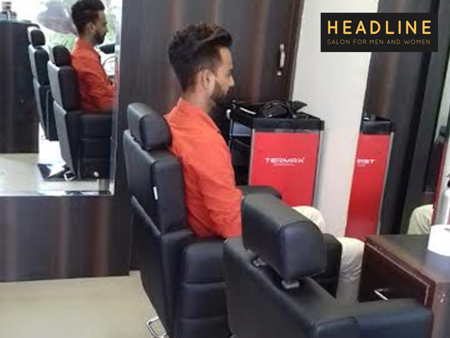 Headline Salon Chandigarh -  Get Any Hair Do & Styling Services