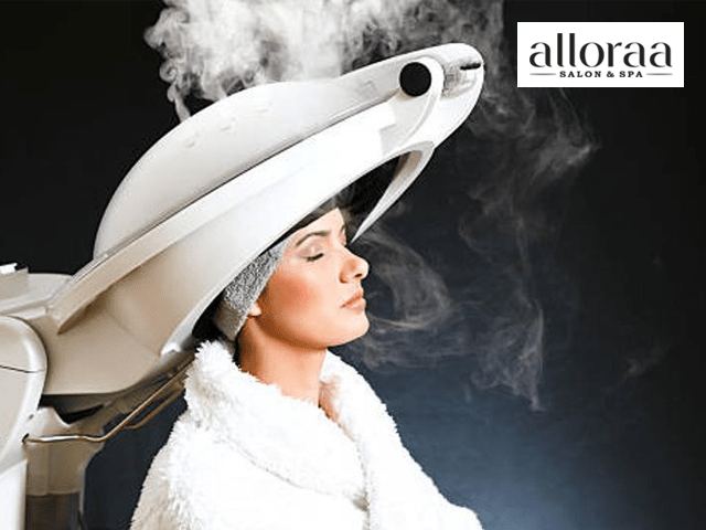 Alloraa Salon & Spa Mohali -Get Hair Spa Service in 299 Only