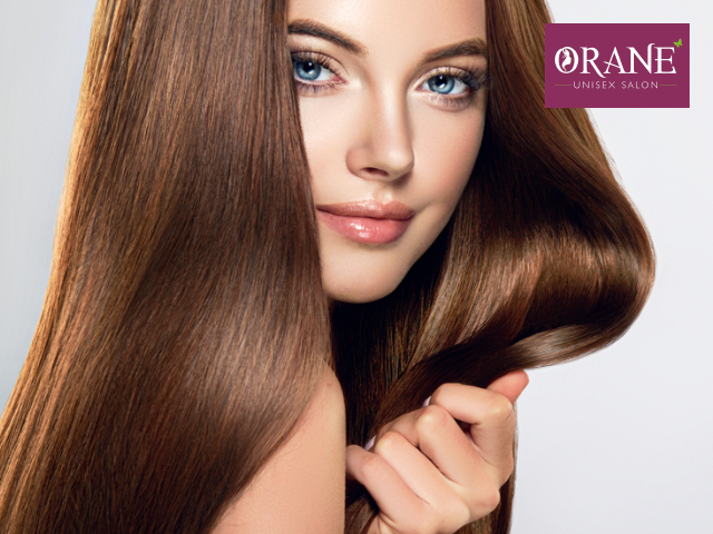 Orane Salon Chandigarh -Get Keratin Therapy for Any Length in Rs.3999 only