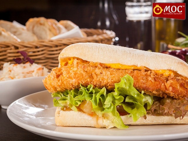 MOC Sector 19D Chandigarh - Get The Best Deal on Chicken Patty Burger in Just Rs.49