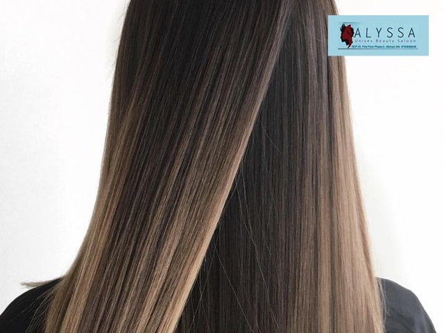 ALYSSA Unisex Beauty Salon Mohali -Get Smoothing (Shoulder Length )  in Just Rs. 2499 Only