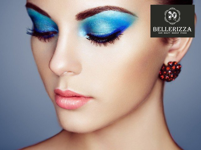 Bellerizza Unisex Beauty Salon Panchkula - Party Makeup with Hair Do