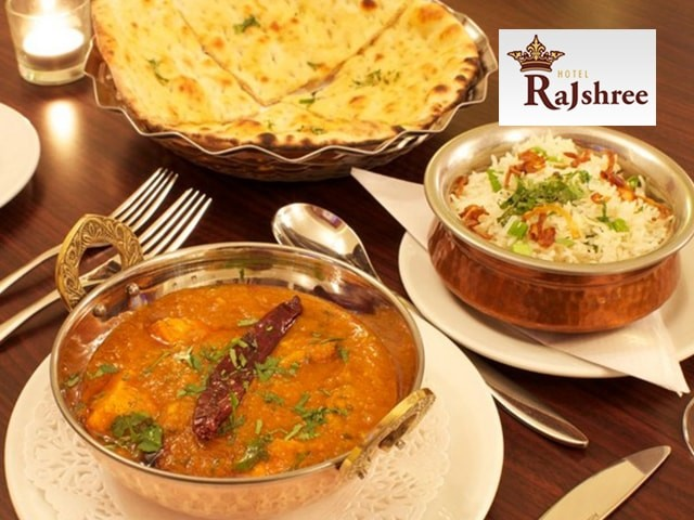Hotel Rajshree Chandigarh - Enjoy an Amazing Discount Offer on Veg Meal for 2 Person