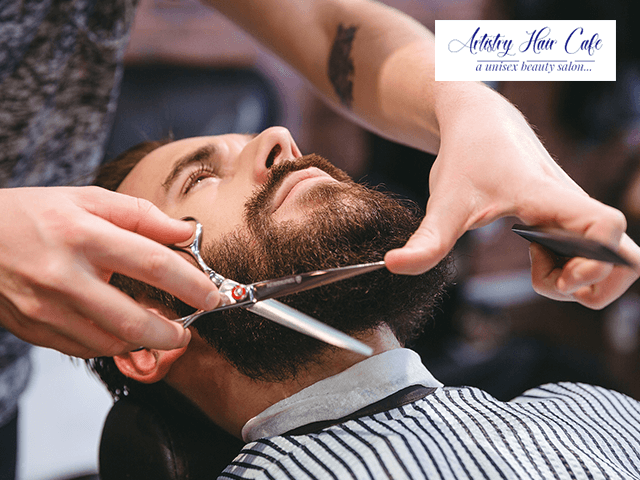 Artistry Hair Cafe Mohali - Get Any 4 Services for Men in Rs.159 Only