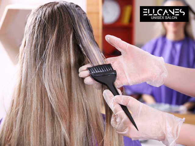 Ellcanes Unisex Salon -Global Hair Colour (Medium Length) in 1199 Only