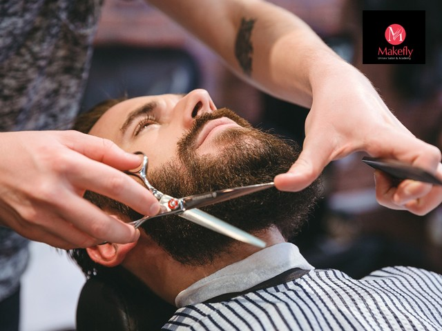 Makefly salon mohali - 5 beauty services men in Rs.299 Only