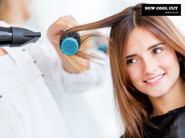 New Cool Cut Unisex Salon- Get 10 Hair And Beauty Deals For Women in Just Rs.399