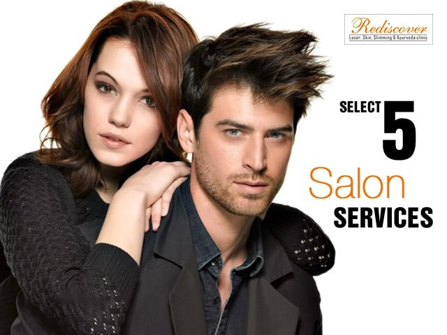 Rediscover Janakpuri Delhi- Choice of Any 5 Salon Services for Men & Women from the List