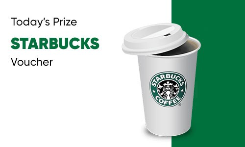 Win Free starbucks E-Gift Card