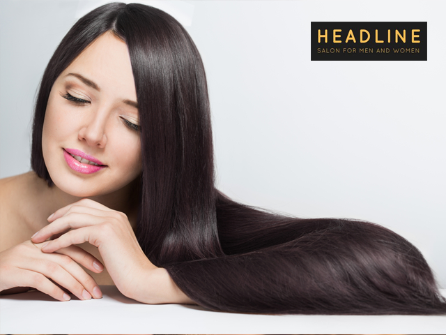 Headline Salon Chandigarh - Get Full Global Hair Streeks Highlights in Rs. 1999 Only