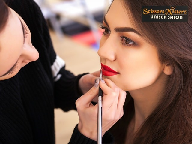 Scissors Masterz Mohali- Get Your Favorite Look With Amazing Party Makeup Deals with Hair Styling