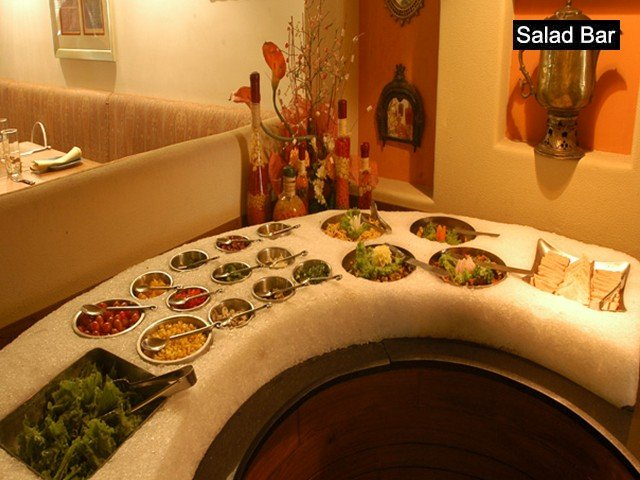 SALAD BAR By Hot Millions