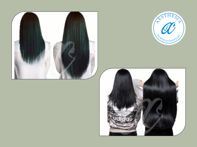 Aesthesia Hair Experts Zirakpur - Original Human Hair Extension ( Fusion) (15 strands)  in Rs 5099 Only.