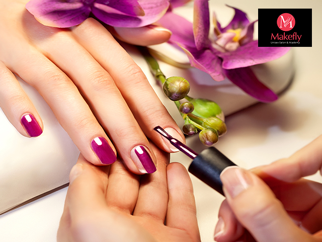 Makefly salon mohali - manicure and pedicure in just Rs 449 Only