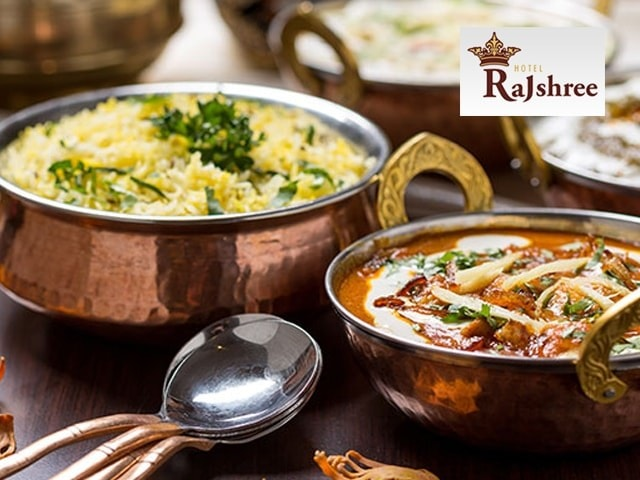 Hotel Rajshree Chandigarh - Enjoy an Amazing Offer on Weekend Veg Meal for 2 Person in Rs 599
