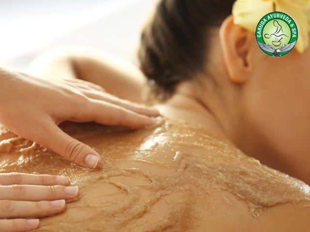Garuda Spa Zirkpur- Full Body Scrub  + Steam + Shower  Rs 1399