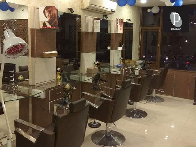 Picasso Salon Mohali-  Get Female Hair Cut + Head Wash + Blow Dry  in Rs.149